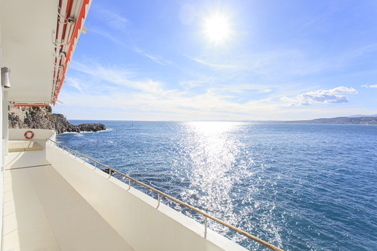 Cap d'Ail to Nice Cap de Nice French Riviera 3-Bedroom Apartment
